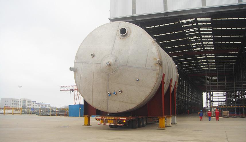 Evonik BWWT Project-Hydraulic buffer tank
